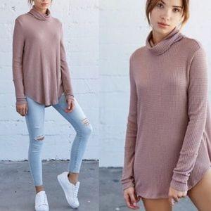 Me To We Blush Thermal Sweater M